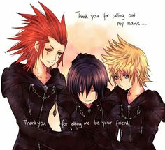 Axel, Xion and Roxas Xion Kingdom Hearts, Kingdom Hearts Games, Kindom Hearts, After Life, Vanitas, Studio Ghibli, Best Games, Final Fantasy, Cute Wallpapers