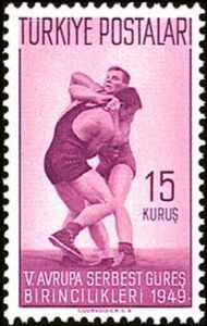 1976 Türkiye - 5th European Wrestling Championships, Istanbul