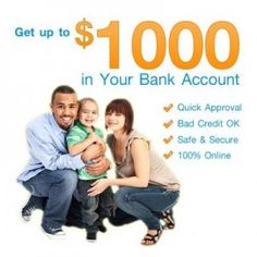 Instant Money Online Need Cash Advance on Same Day! Apply application FORM now and credit cash in your bank account http://www.fast-cash-advance-loans.com/blog