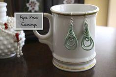 Pipa Knot Earrings DIY