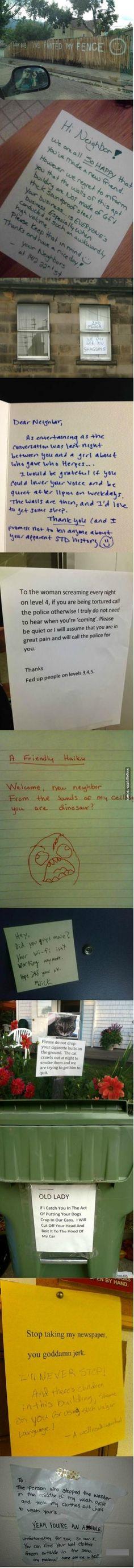 Dear Neighbor,