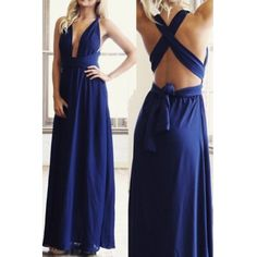 967fb2882e Sexy and Elegant V Neck Cross Back Dress in 4 Colors Wholesale Shoes