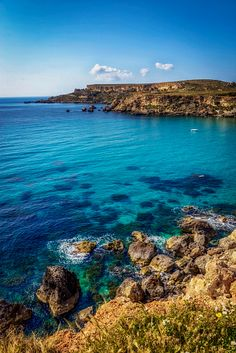 Golden Bay - Malta | #stock #photography #gettyimages #print #travel |
