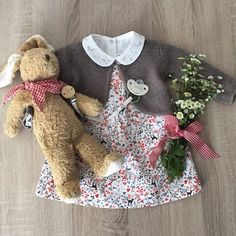 Someone brought some flowers today...  #pfuellerkids #tartineetchocolat #baby #babygirl #babyandkids #mommysgirl #mummysgirl #daddysgirl #käthekruse #litolff #flowers #instaflower #wildflowers #romantic #sweet #cute #lovely #happy #pic #picoftheday #photo #fashion #babyfashion #store #frankfurt #instababy #instagram