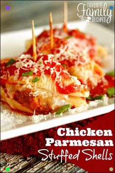 Crunchy Chicken And Ooey Gooey Cheese Stuffed Into A Jumbo Pasta Shell.. What's Not To Love? Discover All Our Yummy Pins At