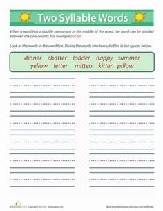 Geometric Nets Worksheets Ck Spelling Rule Find A Word  Teaching  Pinterest Associative Property Of Multiplication Worksheets Free with Song Worksheets Excel Break Down Words To Their Very Core By Counting Up Syllables This Exercise Essay Writing For Kids Worksheet Word