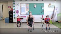 Bouge en classe avec Jeunes en santé #10 Physical Education Games, Health Education, Physical Activities, Motor Activities, Movement Activities, Team Building Activities, Yoga For Kids, Exercise For Kids, Gym Games