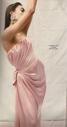 1e3470c4c9cb Yves Saint Laurent Haute Couture Spring 1986 Photographer: David Seidner v