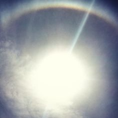Sun Ring at Cabarete beach DR this morning http://houseofwaves.com