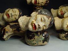 Ceramics, Shin-Yeon Jeon, Artist, Heads Forrest, 2011