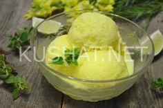 Лимонное мороженое в домашних условиях. Пошаговый рецепт с фото