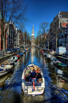 Amsterdam Spring Canal, The Netherlands