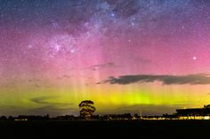 https://flic.kr/p/MEbnQb | Aurora Australis 29 Sept 2016 | Taken from Christchurch, New Zealand some beams finally appeared after GOES15 bounced a few times.
