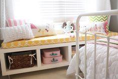 stylish girl bedrooms with storage ideas