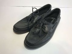 Men's Clothing Disciplined Sas Tripad Comfort Vto Sneakers Sz 10 Ww Black Leather Hook And Loop