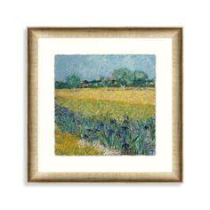 "Vincent van Gogh ""Impressions of My Garden 2"" Framed Art - BedBathandBeyond.com"