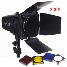 >> Click to Buy << Pro Photography Studio Flash Lighting Kits 180ws 220v Mini Flash Light+Light Barn Door & Honeycomb Grid & Gel Photo Studio Set #Affiliate