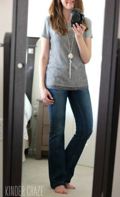 Could use some bootcut jeans. I think. I am short with muscular legs so I think skinny jeans look funny sometimes.