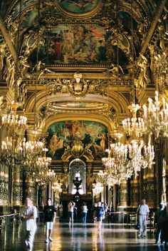 French Provincial| Serafini Amelia| Interior Design-French Interiors-Opera Garnier, Paris, France