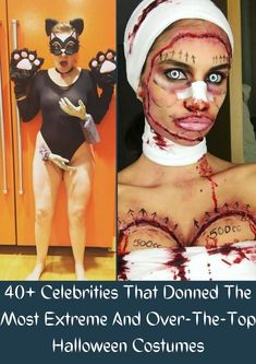 Spooky season is upon us, which means Halloween is right around the corner. If anyone knows how to win a costume contest, it is these celebrities who spend tons of money on their custom-made costumes. #40+ #Celebrities #Donned #Halloween #Costumes