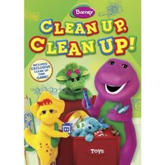 Lyons / Hit Ent. Barney: Clean Up Clean Up (Full Frame)