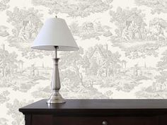 Country Toile Grey