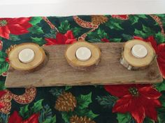 What a special handmade candle holder for under $20.00 for your Secret Santa gift or hostess gift or as a Christmas gift. #Christmasgift #SecretSantagift #hostessgift https://www.etsy.com/listing/163215520/reclaimed-wood-candle-holder-rustic?ref=shop_home_active