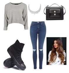 """Untitled #34"" by kianaawilliams on Polyvore featuring Converse and Balenciaga"