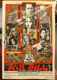Kill Bill: The Whole Bloody Affair by Tyler Stout for Mondo.