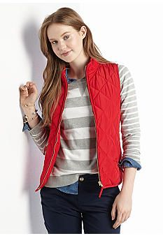 I just want a puffy vest in red. Crown and ivy at Belks. Size small