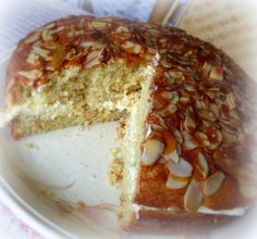 Honey Almond Cake recipe from the English Kitchen