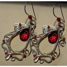 25 % Off Red Earrings | JewelryLessons.com