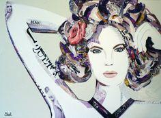 A new kind of beauty Paper-art by Jorien Stel www.jorienstel.nl