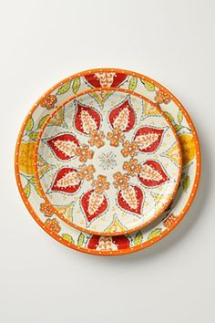 My wedding china is white, but I want some patterned pieces for festive-er parties and get-togethers. It has to be cheap, timeless, and durable. Anthropologie $12-$78