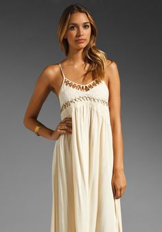 BLESS'ED ARE THE MEEK High Beam Dress in Cream at Revolve Clothing - Free Shipping!