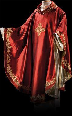 Roman Church, Altar Cloth, Church Fashion, Fibre And Fabric, Catholic Religion, Renaissance Costume, Sacramento, Mens Fashion, Costumes