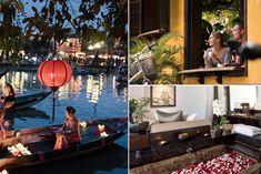 Lotus ponds and rose petal baths in Vietnam Most Romantic, Romantic Travel, Lotus Pond, Four Seasons Hotel, Spa Treatments, Ponds, Rose Petals, Baths, Vietnam