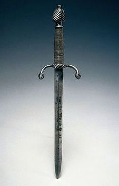 Italian Parrying Dagger, c. 1580-1610, steel, copper wire, overall length 1.26cm. .Tumblr