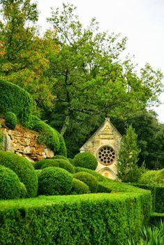 Les Jardins de Marquessac, Perigord Noir, Dordogne, France #gardendesign #landscapearchitecture