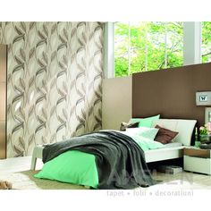 Aduceti natura in dormitorul dumneavoastra Curtains, Furniture, Home Decor, Blinds, Decoration Home, Room Decor, Home Furnishings, Draping, Home Interior Design