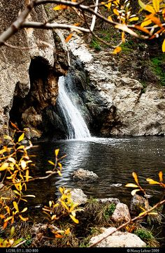 Paradise Falls, Wildwood Park, Thousand Oaks, California, USA
