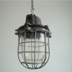 Czechoslovakian Factory Lights (Large) - traditional - pendant lighting - SkinFlint Design