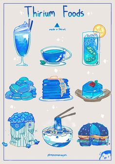 """""""Just a lil headcanon: edible food for Androids which is made of Thirium✨ Featuring smol Connor yes Cute Food Drawings, Cute Kawaii Drawings, Cute Animal Drawings, Arte Do Kawaii, Kawaii Art, Kawaii Stickers, Cute Stickers, Aesthetic Art, Aesthetic Anime"""