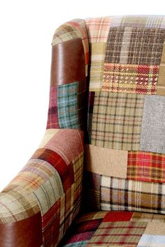 Peter Silk of Helmsley Ltd > Unique Patchwork sofa > Bespoke Sofa's, chairs and footstools Online Shop Home