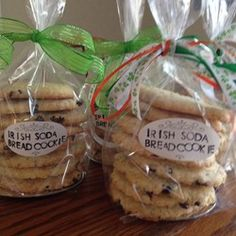 """Irish Soda Bread Cookies 