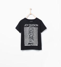 Image 1 of Joy Division T-shirt from Zara