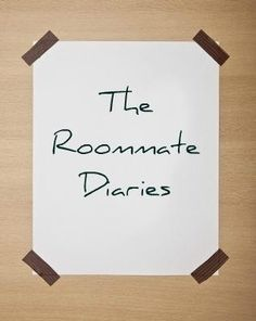 The Roommate Diaries by Marie Elocin. Check out the excerpts and info on upcoming books on facebook!     http://www.facebook.com/#!/pages/The-Roommate-Diaries/368873739806574