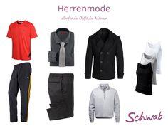 Aktuelle #Herrenmode bei Schwab - alles für Euer Outfit!