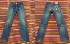 Fade-of-the-Day---Levi's-501-STF-(2-Years,-3-Washes,-2-Soaks)-front-back