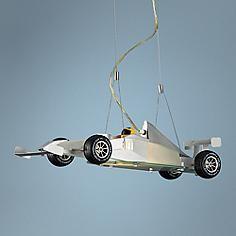 Race Car Pendant Chandelier